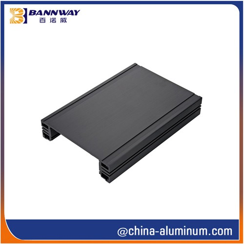 Black Anodized Aluminium Extrusion Profiles