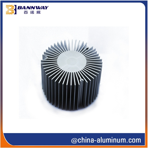 6063 Extruded Heat Sink Profiles