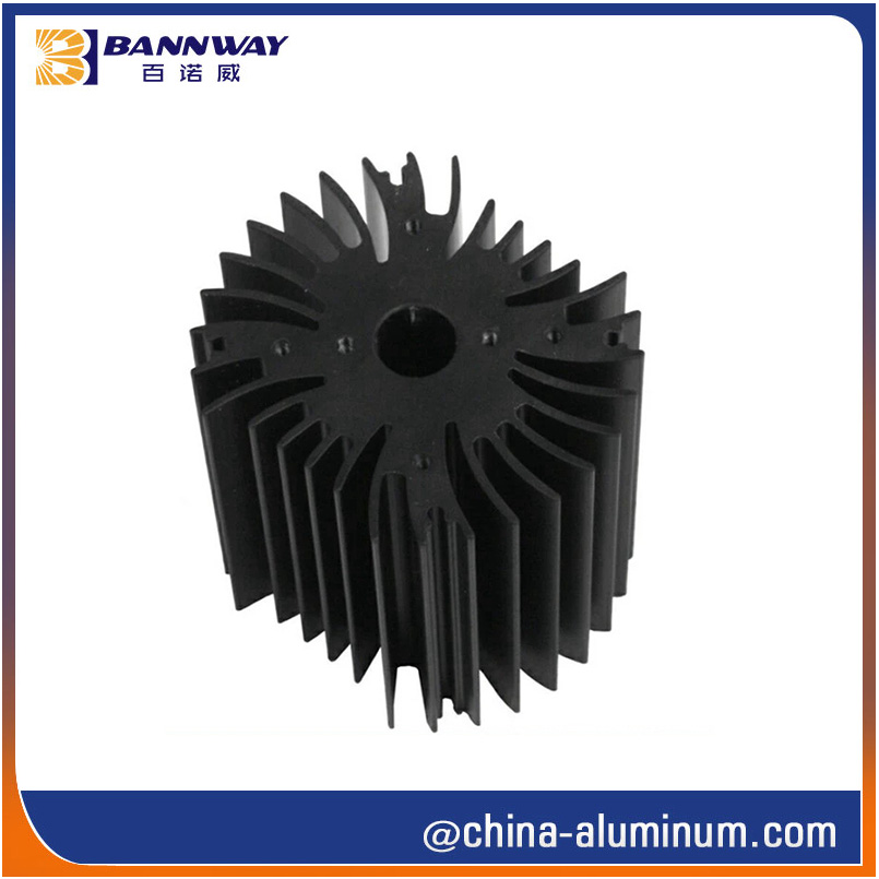 Heat Sink Aluminium Extrusion Profiles