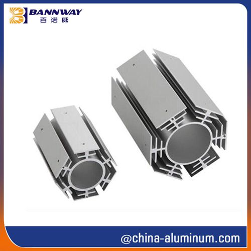 AA6063-T5 Extruded Heat Sink Profiles