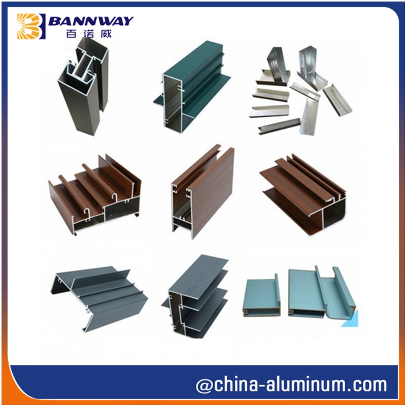 Sliding Door Window Aluminium Profiles