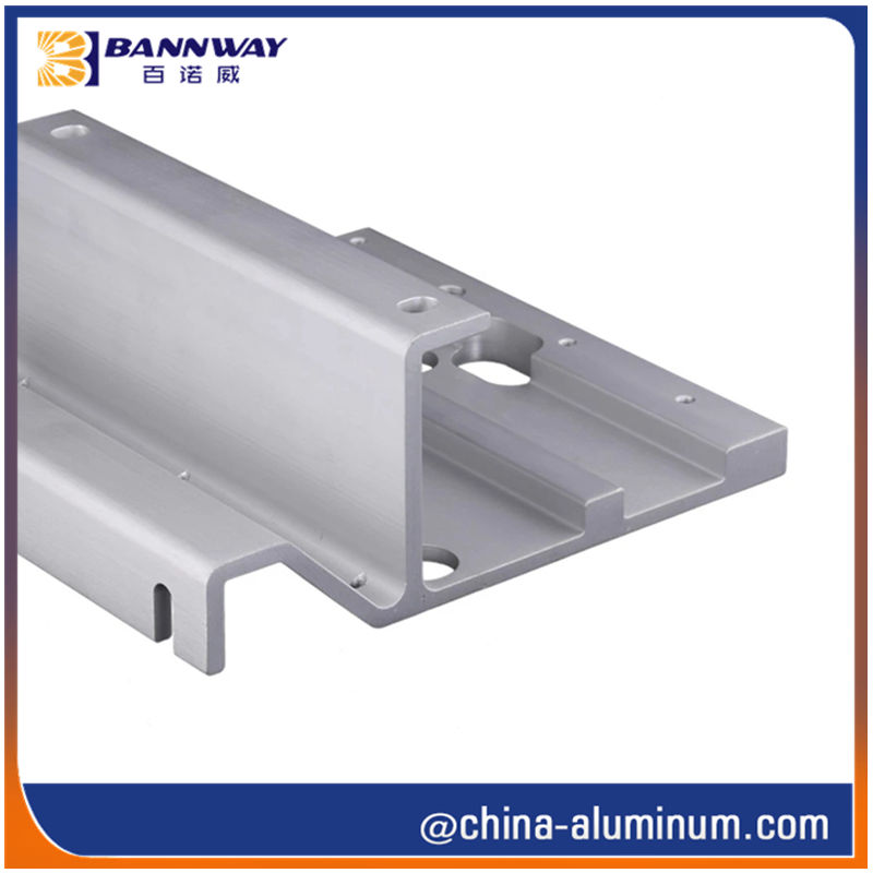 OEM Custom Extruded Aluminium CNC Parts
