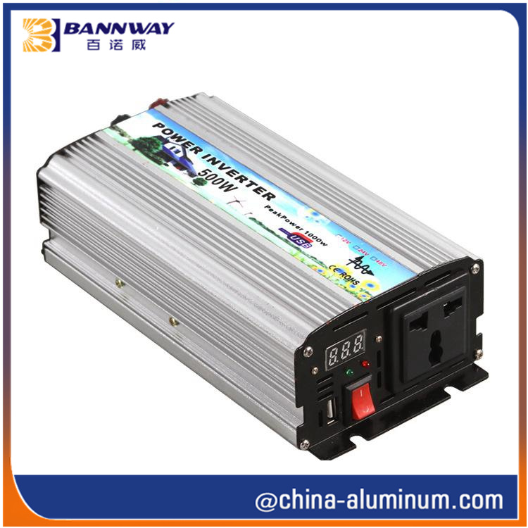 DC-AV Power Inverter Aluminium Housing Profile